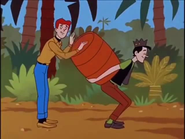 Archie-Show-59-Archie-Jughead-drum